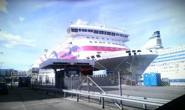 notre Ferry pour la traversée