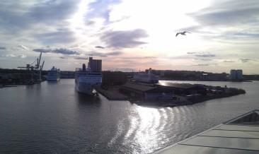 départ de Stockholm