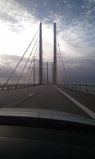 pont suède / Danemark retour