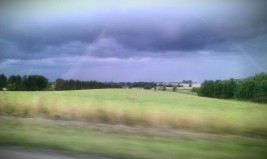 pluie retour
